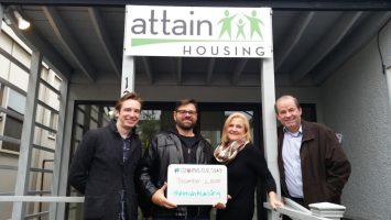 Attain Housing Board for Giving Tuesday