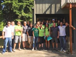 Community Service Day, June 24, 2015-Buck Buys Houses