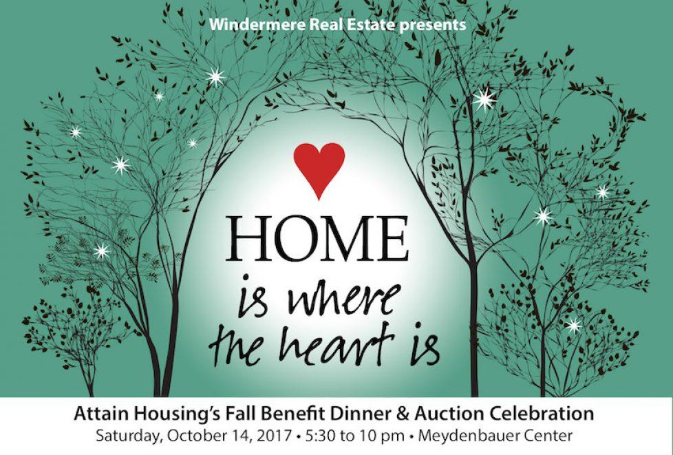 Attain Housing's Fall Benefit, October 14, 2017