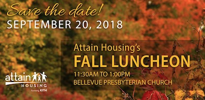 Attain Housing Luncheon, September 20
