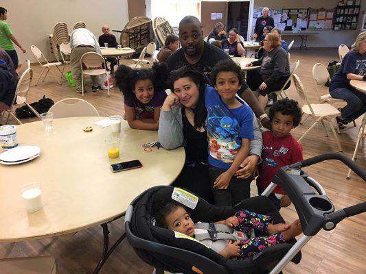 Attain Housing Community Supper