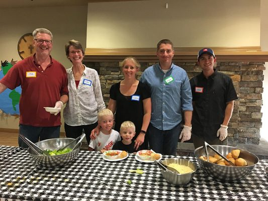 Attain Housing Community Supper